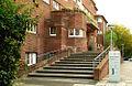 Heinemanhof Pflegzentrum Kompetenzzentrum Demenz Treppenaufgang von der Brabeckstraße, Hannover Kirchrode II.jpg