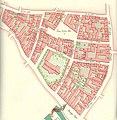 Helligaandskirken Copenhagen map Gedde 1757.jpg