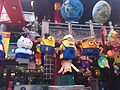 Hello Kitty and Despicable Me Minion Lanterns in Songshan Ciyou Temple 20160208.JPG