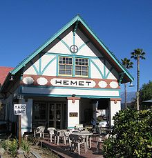 Hemet: Old Santa Fe Depot