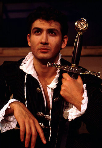 Henry IV, Part 1 - John Farmanesh-Bocca as Prince Hal in the Carmel Shakespeare Festival production of Henry IV, Part 1.
