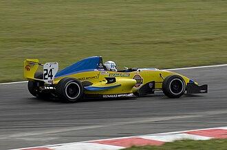 Henry Surtees - Surtees racing at Snetterton in 2008