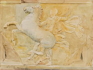 Central Metope of the Frieze of Phidias, Parthenon