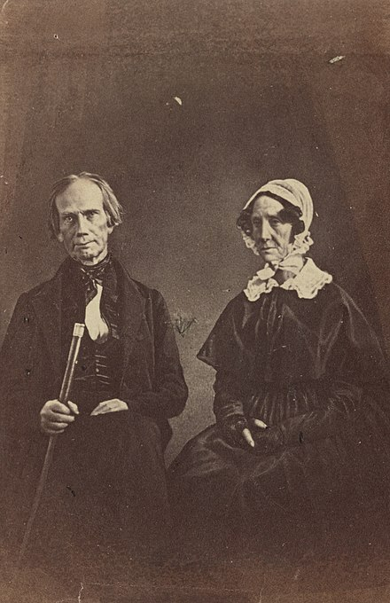 Henry Clay and his wife, Lucretia (nee Hart) Henry Clay and wife (cropped).jpg