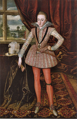 Henry Prince of Wales 1610 Robert Peake