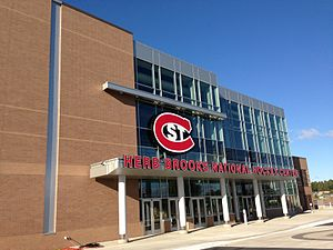 Das Herb Brooks National Hockey Center in St. Cloud