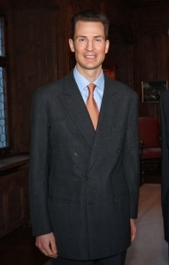 Alois, Hereditary Prince of Liechtenstein - Image: Hereditary Prince of Liechtenstein