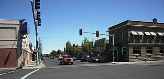 Hermiston, Oregon - Historic business district of Hermiston