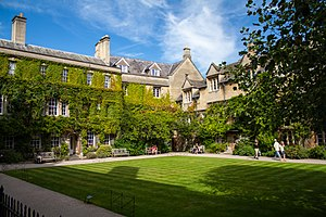 Hertford College cover