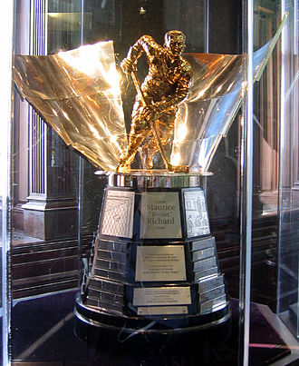 "Maurice ""Rocket"" Richard Trophy - Image: Hhof maurice richard"