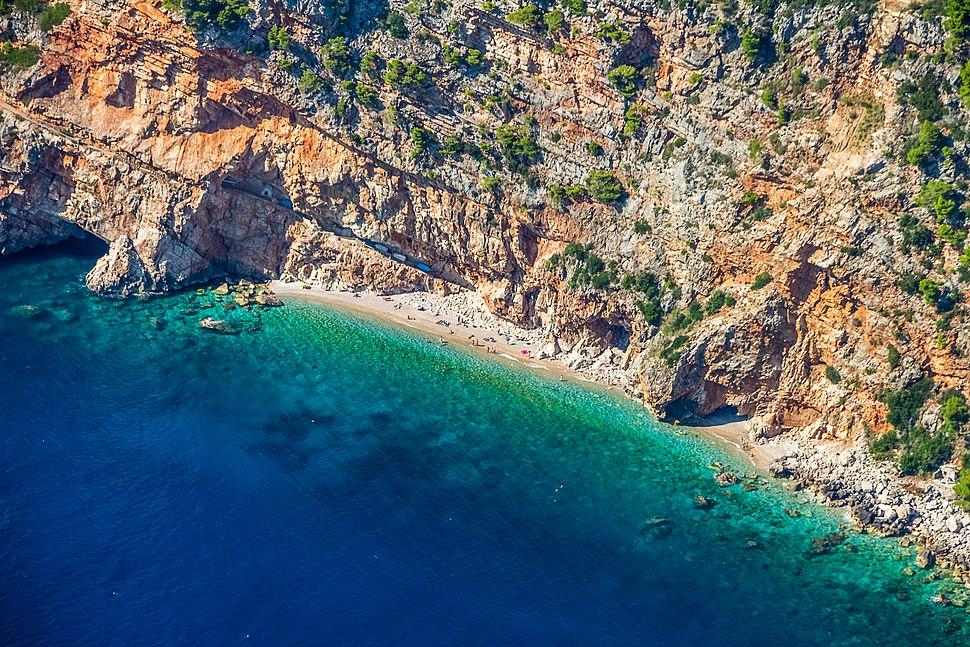 Hidden beach in southern Dalmatia.