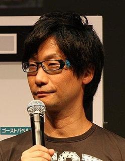 Hideo Kojima Japanese video game designer