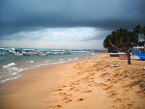 Hikkaduwa - Image: Hikkaduwa Beach