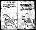 Hindi Manuscript 191, fols. 7 verso, 8 recto Wellcome L0024200.jpg