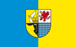 Flag of the Mecklenburgische Seenplatte district.png