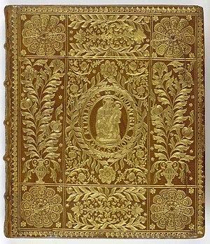 Augustan History - Image: Historia Augusta, seu Vitae Romanorum Caesarum Upper cover (Davis 643)