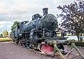 Historical locomotive in Mora.jpg