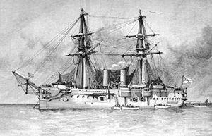 HMS Temeraire (1876) - HMS Temeraire