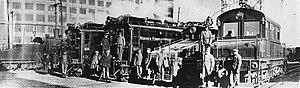 Hoboken Shore Railroad - Locomotives of the predecessor HMRR around 1930