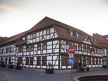 Geburtshaus in Fallersleben (Quelle: Wikimedia)