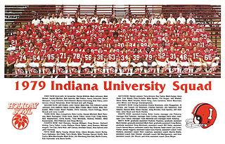 1979 Indiana Hoosiers football team 1979 football tram