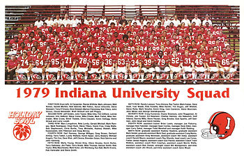Team Photo of the 1979 Holiday Bowl