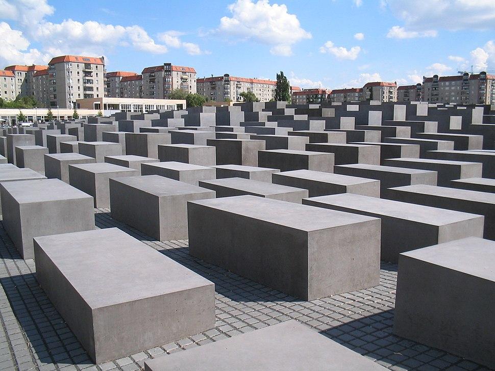 Holocaust-Mahnmal Berlin 2006