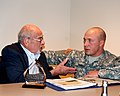 Holocaust survivor and World War II vet speaks to Soldiers, Airmen 140430-A-NU174-006.jpg