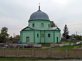 Holovne-Liubomlskyi Volynska-Holy Trinity church-east view.jpg