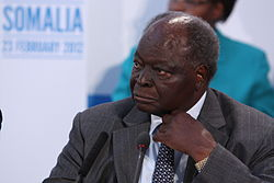 Hon. Mwai Kibaki at the London Conference on Somalia, 23 February 2012