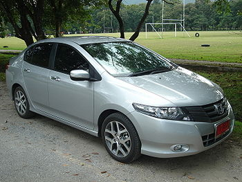 English: Fifth generation Honda City found in ...