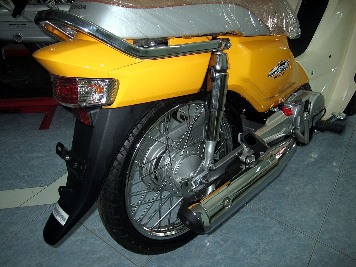 File Honda Dream 110i Super Cub Nd110m 2014 Rear Jpg Wikimedia Commons