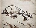Honoré daumier, don chisciotte e la mula morta, 1867, 02.JPG
