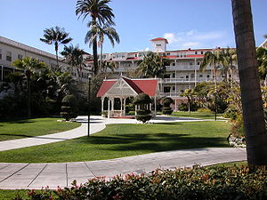 The old building of the Hotel del Coronado. Ca...