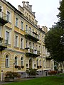 Hotel Luisa (bývalá Rubeška) - pohled od divadla.JPG