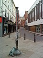 Houndsgate Shops indicator post - geograph.org.uk - 1911438.jpg