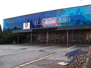 2002 World Junior Ice Hockey Championships - Image: Hradec Králové, zimní stadion