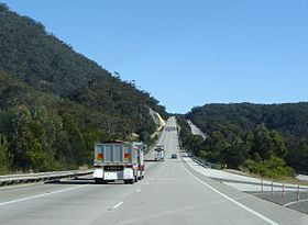 Der Hume Highway durch die Southern Highlands