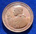 Hungary 1859 Medal Cardinal Scitovský, obverse.jpg