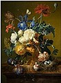 Husum, Jan van - Vase of flowers - Galleria Palatina.jpg