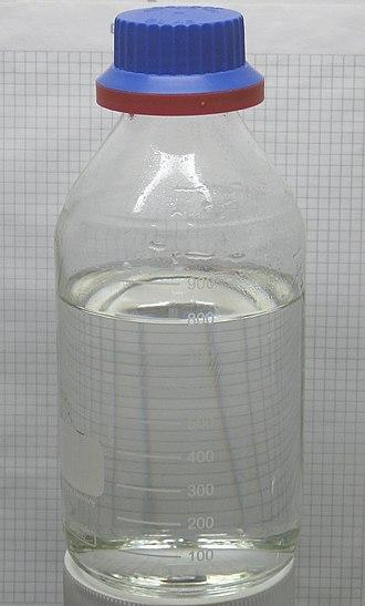 Hydrochloric acid - Image: Hydrochloric acid 30 percent