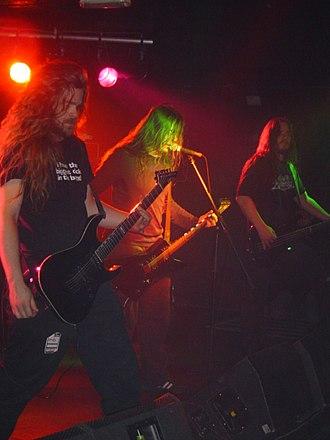 Hypocrisy (band) - Hypocrisy live in Glasgow, Scotland 2006