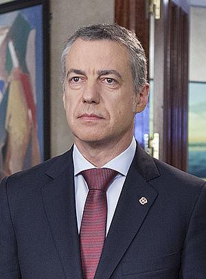 Iñigo Urkullu - Urkullu in December 2014