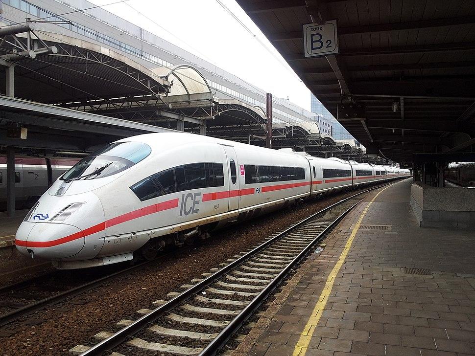 ICE 4653 Nederlandse Spoorwegen at Brussels Zuid