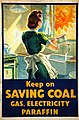 INF3-179 Fuel Economy Keep on saving coal... (housewife at kitchen sink) Artist Marc Stone.jpg