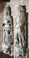 interieur, beelden afkomstig van het stadhuis - kampen - 20262888 - rce