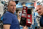 ISS-56 Drew Feustel and Alexander Gerst in the Destiny lab.jpg
