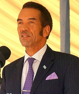 2009 Botswana general election - Image: Ian Khama