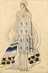 Ida Rubinstein's costume for Phaedra by L.Bakst (1923, priv.coll.).jpg