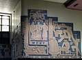 Image-Central train station, west corner art, Montreal.JPG